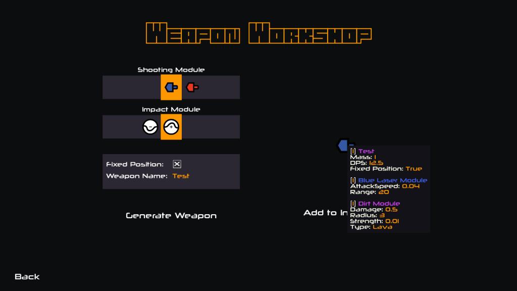 Nimbatus Weapon Workshop